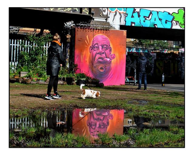 LONDON STREET ART by WOSKERSKI