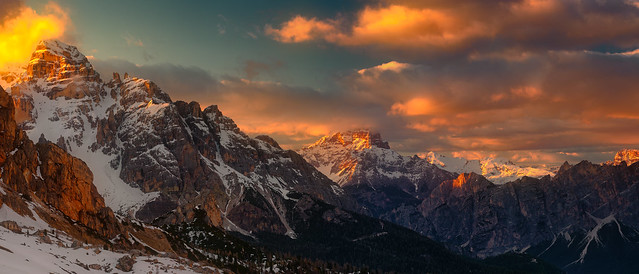Dolomites Sunset / Italy