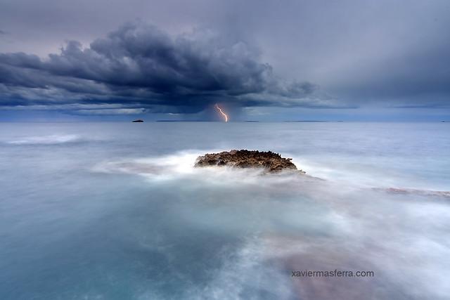 Tormenta sobre Formentera