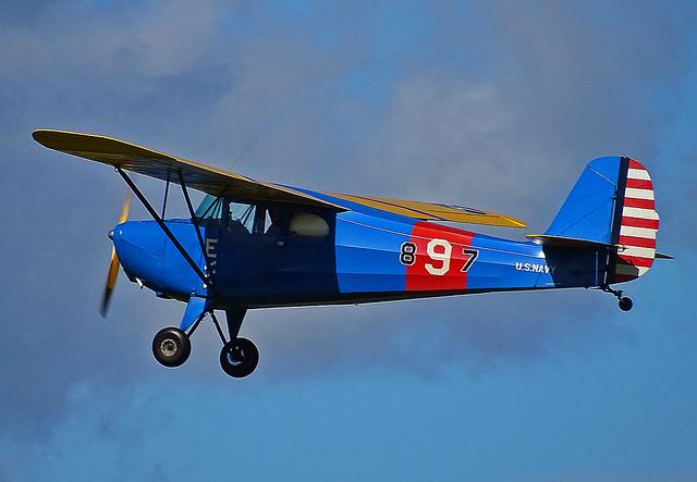 897 (G-BJEV) Aeronca 11AC Chief