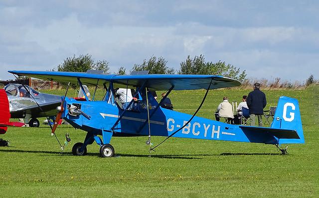 G-BCYH DAW Privateer Mk.3 Motor Glider