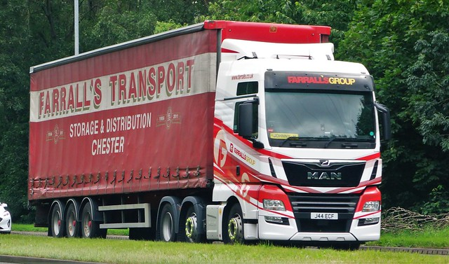 Farrall's Transport MAN TGX J44 ECF