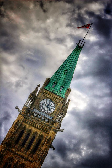 Ottawa Ontario Canada ~ Parliament Hill and Tower Clock  ~ Historical Site