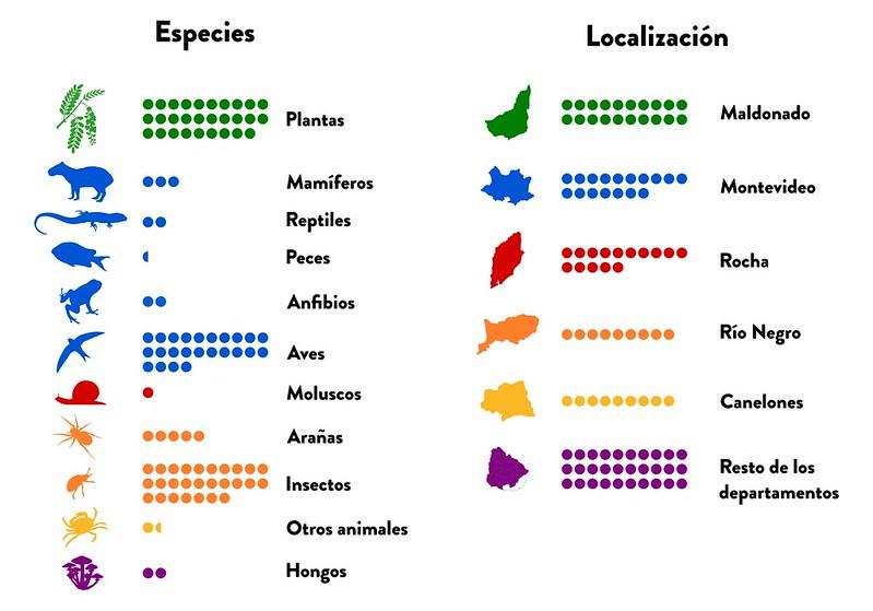 Especies y Localización