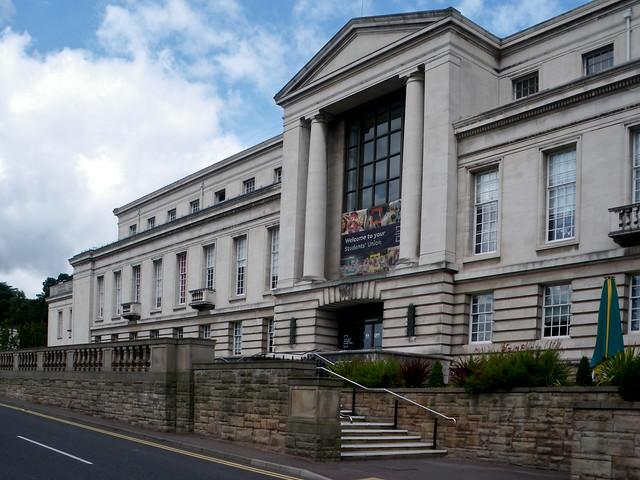 Nottingham University - Portland Building (1949, T Cecil Howitt, Grade II listed)