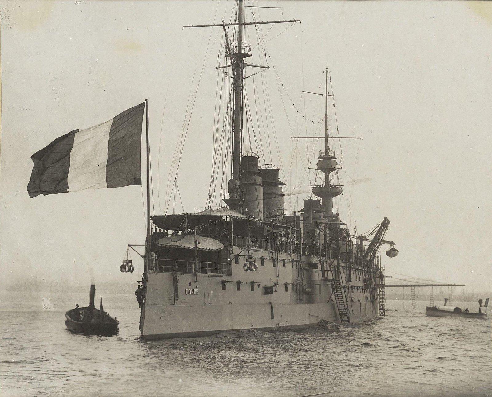 22. Корабль Conde. 1901-1902 гг.