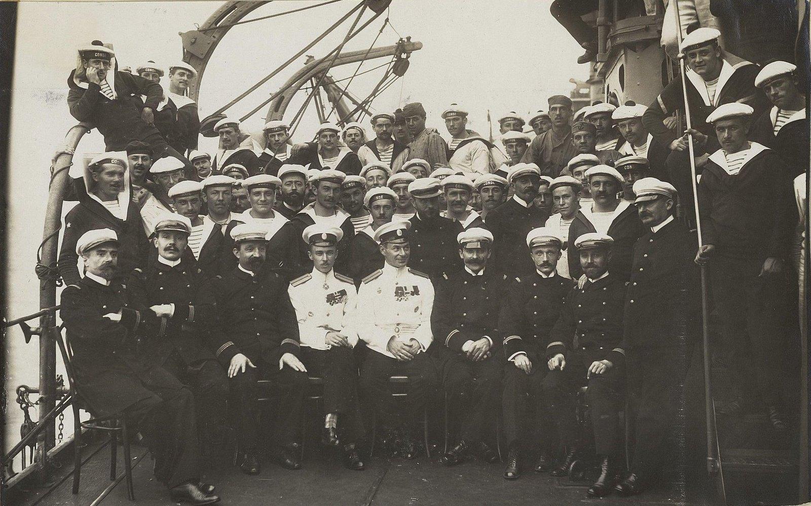 16. Команда учебного судна «Океан». 1901-1902 гг.