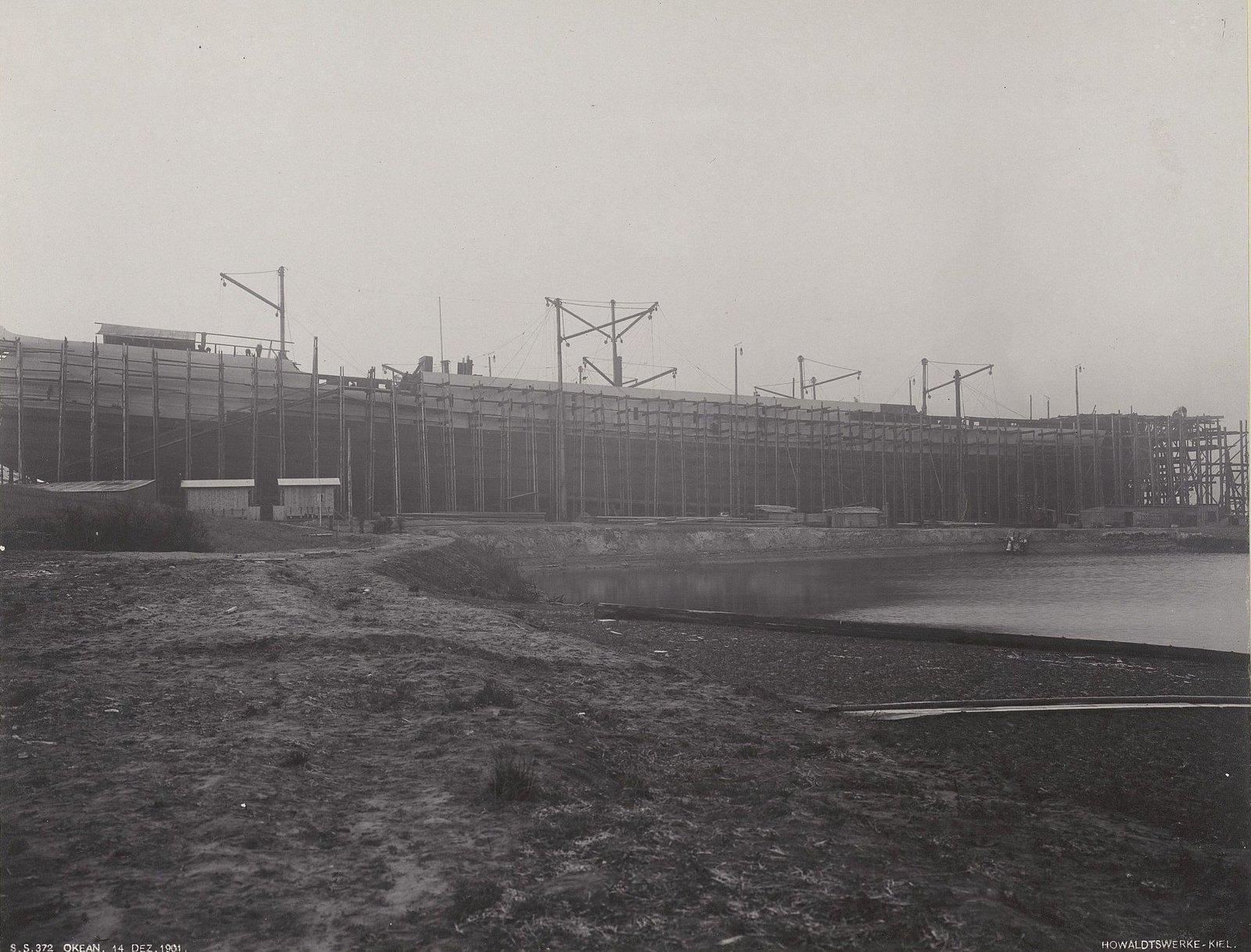 04. Строительство учебного судна «Океан». 14 декабря 1901 г.