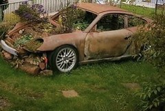 Porsche Weeds - if it sits long enough this might happen.  When/Where the last time you drove yours?  Like Share Tag Add Story   Keeping Porsches on the Road Globally 22+ years! What does yours need? Share with your community!