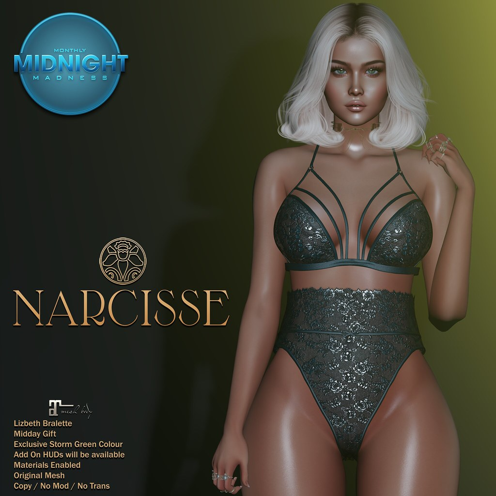 -Narcisse- Monthly Midnight Madness – Midday Gift