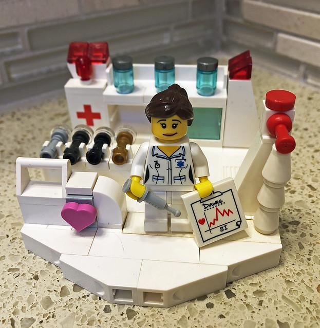 LEGO Medical Vignette - S1 Nurse