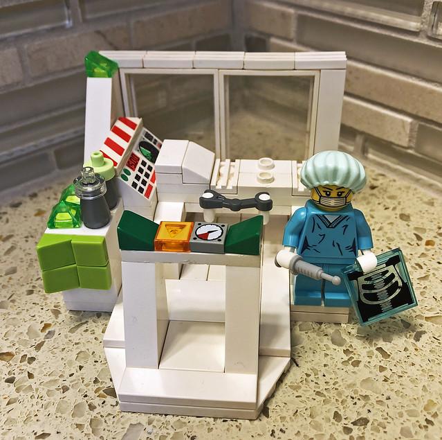 LEGO Medical Vignette - S6 Surgeon