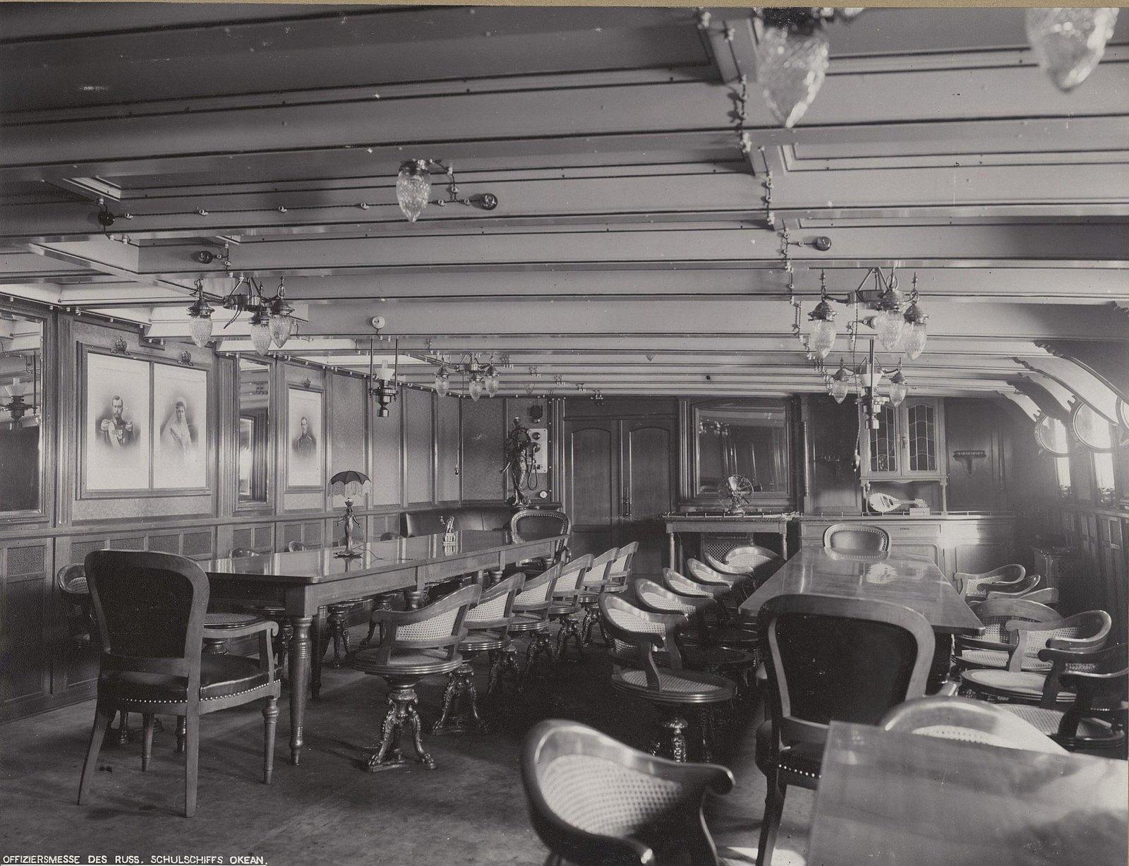 15. В одном из помещений учебного судна «Океан». 1901-1902 гг.