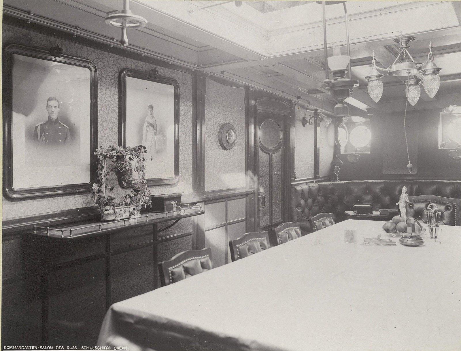 07. В одном из помещений учебного судна «Океан». 1901-1902 гг.