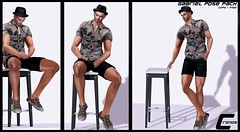 -NEW RELEASE- Gabriel Bento Static Pose Pack