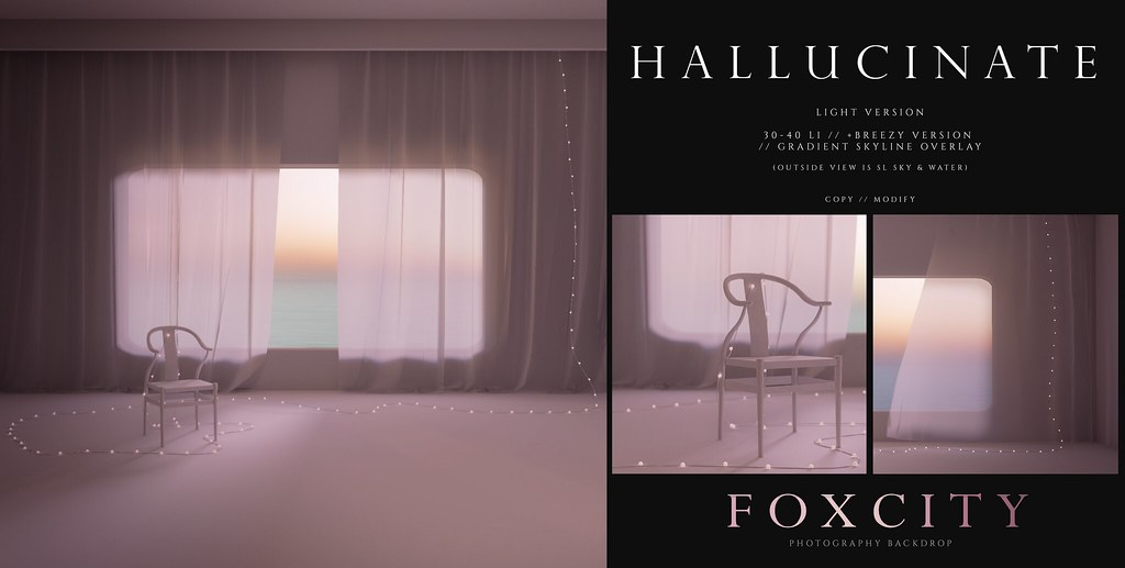 FOXCITY. Photo Booth – Hallucinate (Light)