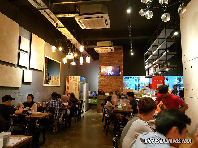 nanda chicken solaris mount kiara interior