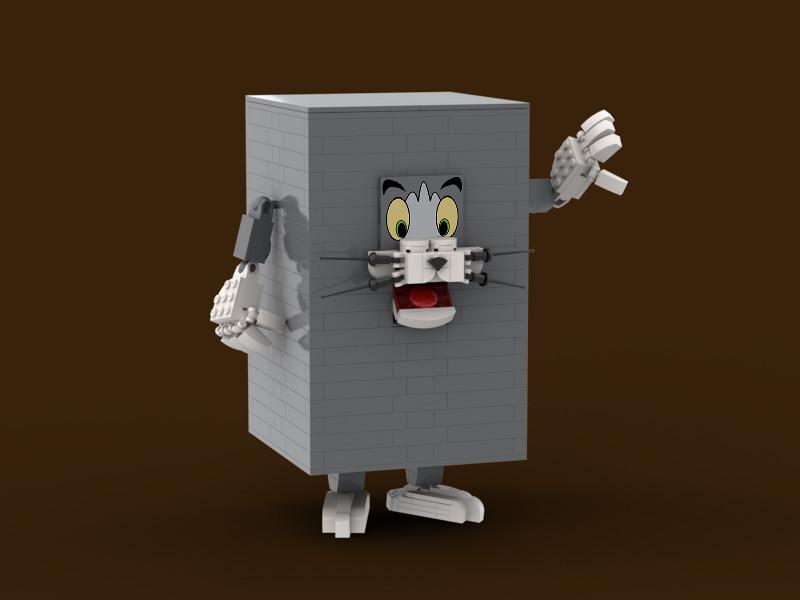 是那隻不懷好意的貓跟狡猾老鼠~ BrickGallery 樂高 MOC 作品《湯姆貓與傑利鼠》80 週年模型 (Tom And Jerry 80th Anniversary Figures) 爆笑現身!