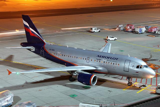 VQ-BBA Aeroflot A319-100
