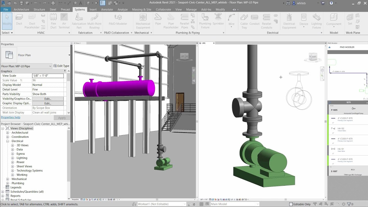 Working with Autodesk Revit 2021 full license