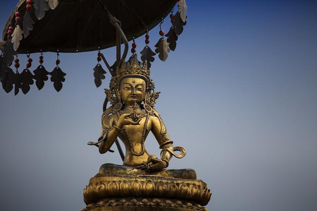 Avalokiteshvara At Swayambhunath, Kathmandu