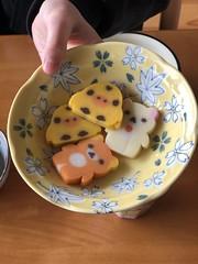 Rilakkuma fish cakes!