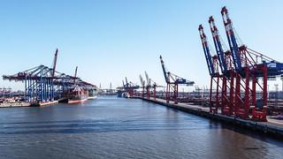 Hamburg Harbour / DJI Mavic Mini