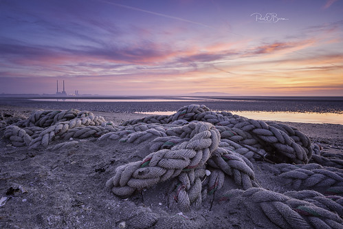 beach blackrock dublin offshoot dawn sunrise water ireland paulobrien