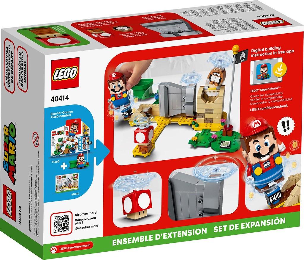 LEGO 40414《樂高超級瑪利歐》土撥鼠&超級蘑菇 Monty Mole & Super Mushroom