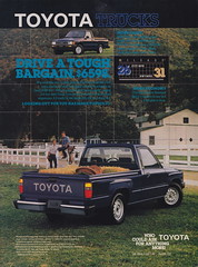 1986 Toyota Truck Ad