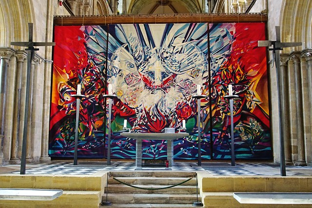 Chichester Cathedral: the Anglo German tapestry