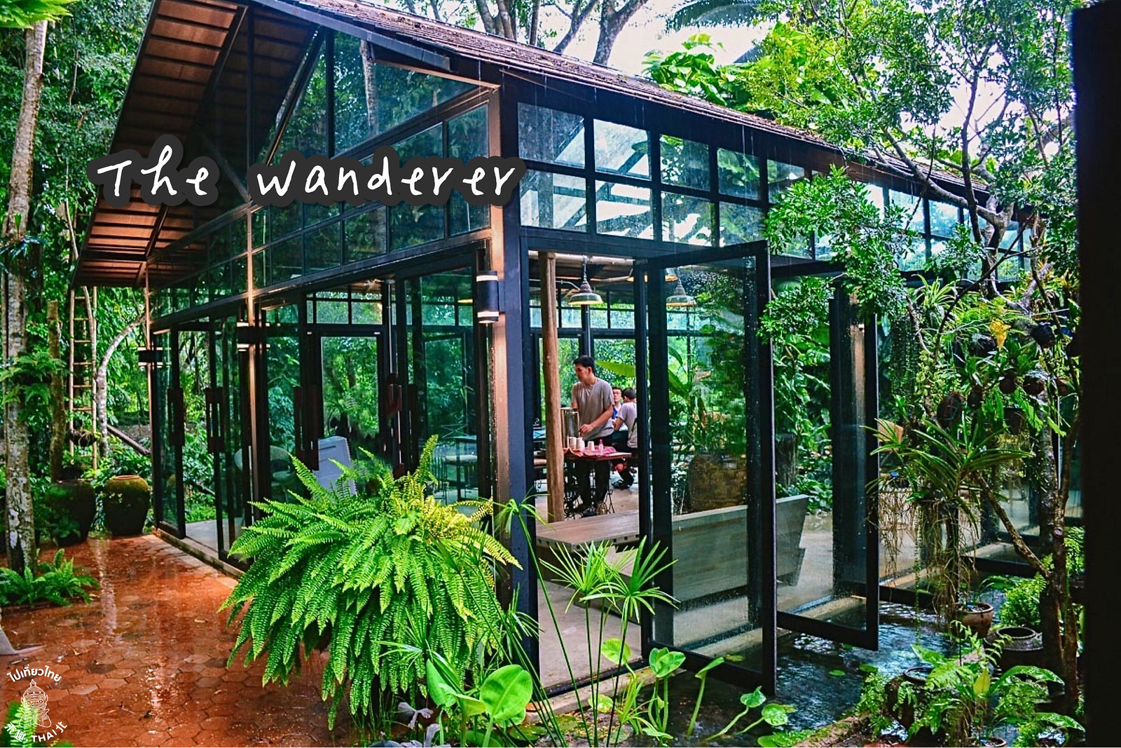 美學森林系咖啡廳-《The Wanderer》