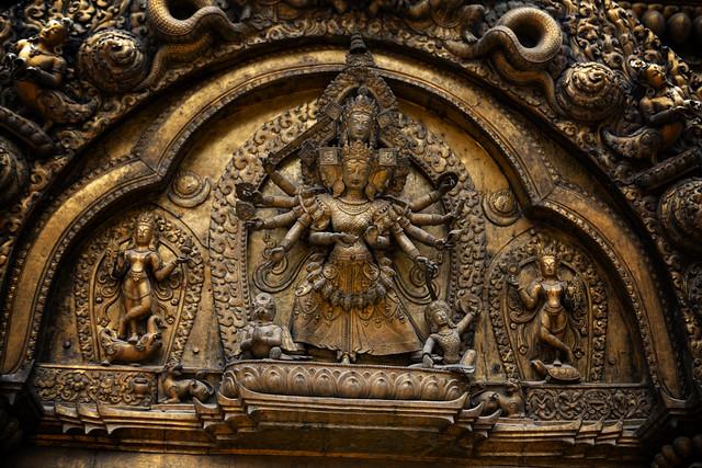 Kali In Bhaktapur, Nepal