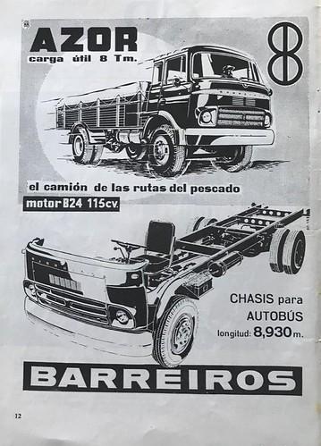 camió Barreiros el camió de les rutes del peixç