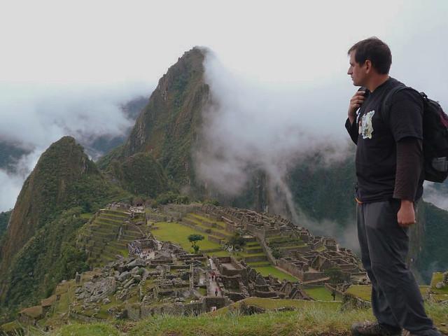 Sele en Machu Picchu (Perú). Guía para preparar una vuelta al mundo o un viaje de larga duración
