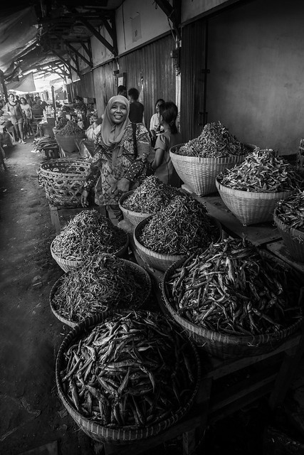 Mandalika market, Lombok, Indonesia