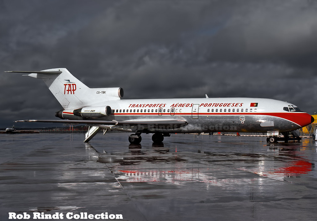 TAP - Air Portugal B727-82 CS-TBK
