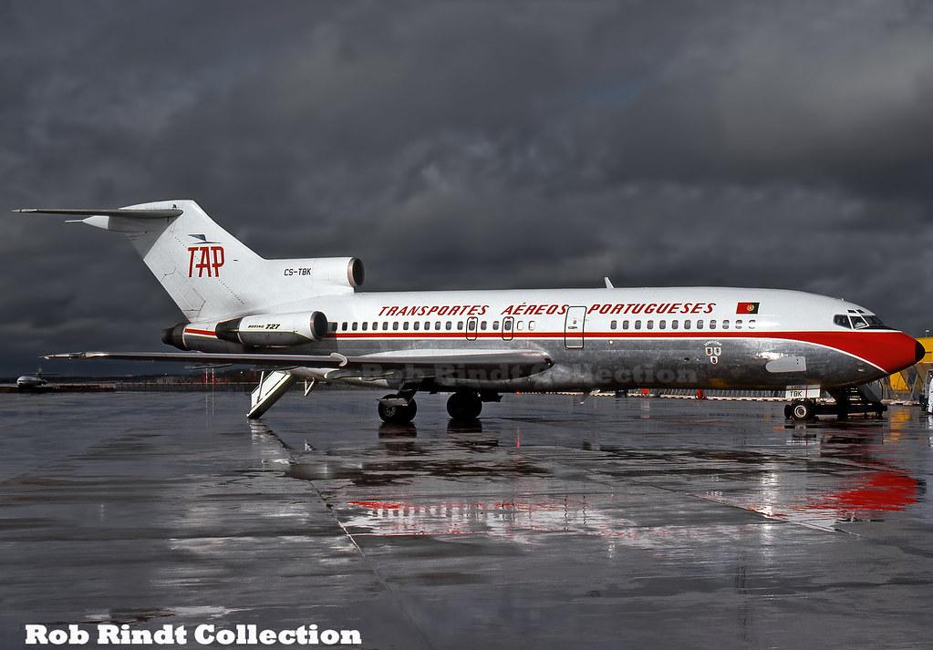 TAP - Air Portugal B727-82 CS-TBK