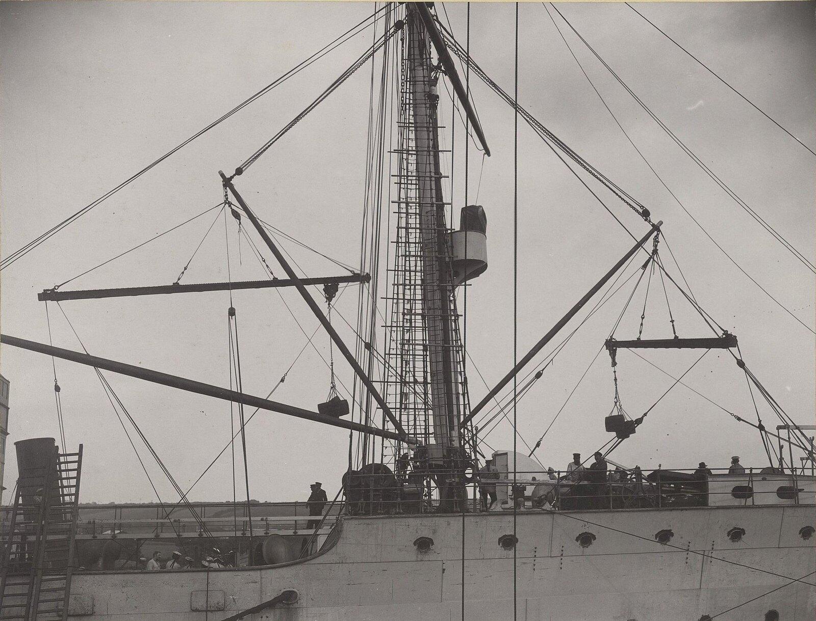 23. На борту учебного судна «Океан». 1901-1902 гг.