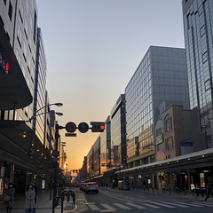 Downtown Kyoto (Shijo x Yanagibaba) at 6PM... pretty empty
