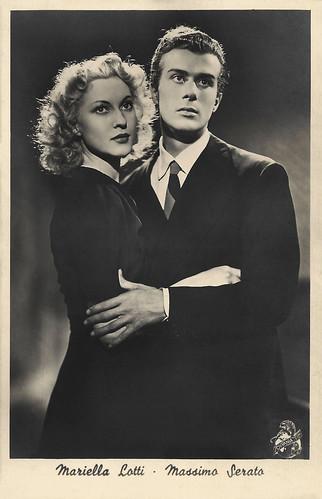 Mariella Lotti and Massimo Serato in L'Ispettore Vargas (1940)
