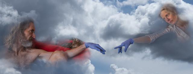 Apologies to Michelangelo