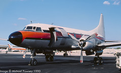 N4826C - 1957 build Convair 440-38, aircraft crashed off British Virgin Islands in 2004