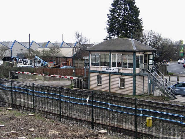 Sneinton Signal Box, April 2013