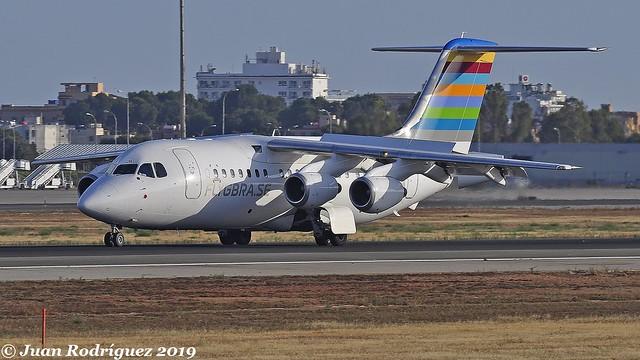 SE-DJN - Braathens Regional Airlines - British Aerospace Avro RJ85 - PMI/LEPA