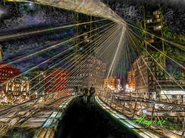 Bilbao- pasarela calatrava