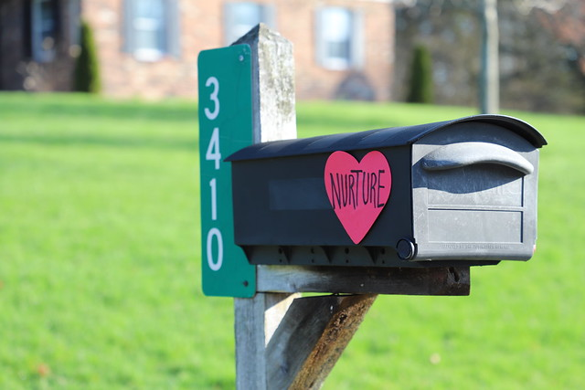 Signs of Love and Encouragement - Oak Park Estates Neighborhood (Saline, Michigan) - 100/2020 303/P365Year12 4320/P365all-time (April 9, 2020)