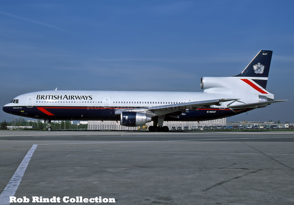 British Airways L1011-100 G-BBAF