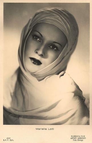 Mariella Lotti in La Gorgona (1942)