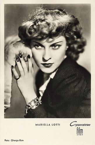 Mariella Lotti in La donna che inventò l'amore (1952)